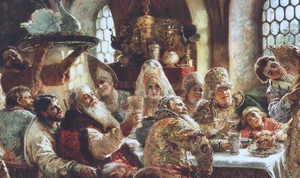Party like a Russian. История русского веселья.