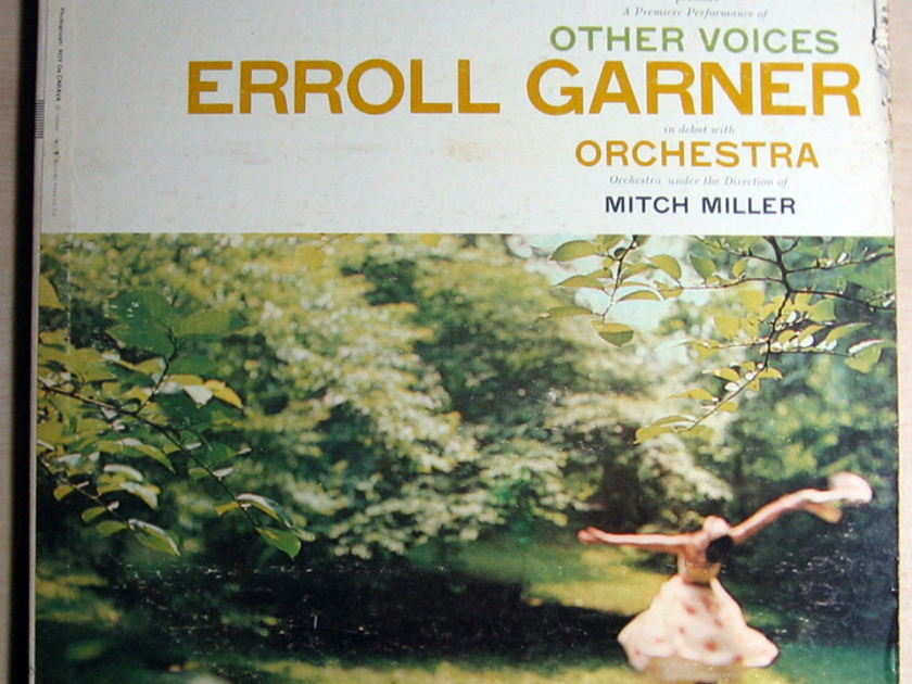 Erroll Garner - Other Voices  - 1957 MONO Columbia ‎CL 1014