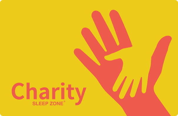 sleep zone bedding   website store products pages  charity holding hands yellow red