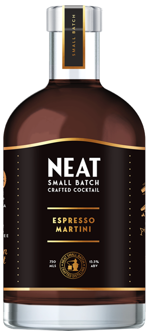Neat Espresso Martini Bottle