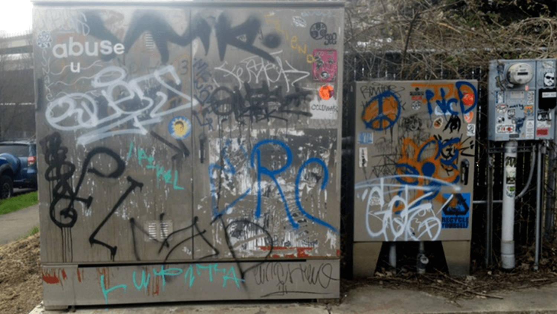 take graffiti off metal