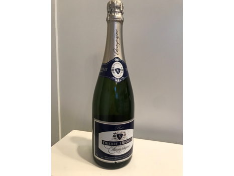 Thierry Triolet Brut Champagne, Recoltant-Manipulant A' Bethon