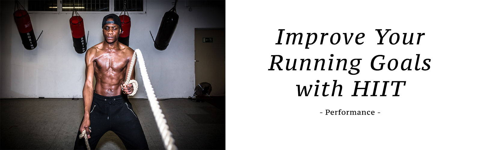 Improve Your Running Goals with HIIT