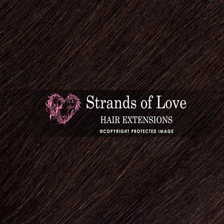 Strands Of Love Hair Extensions Colour Soft Black