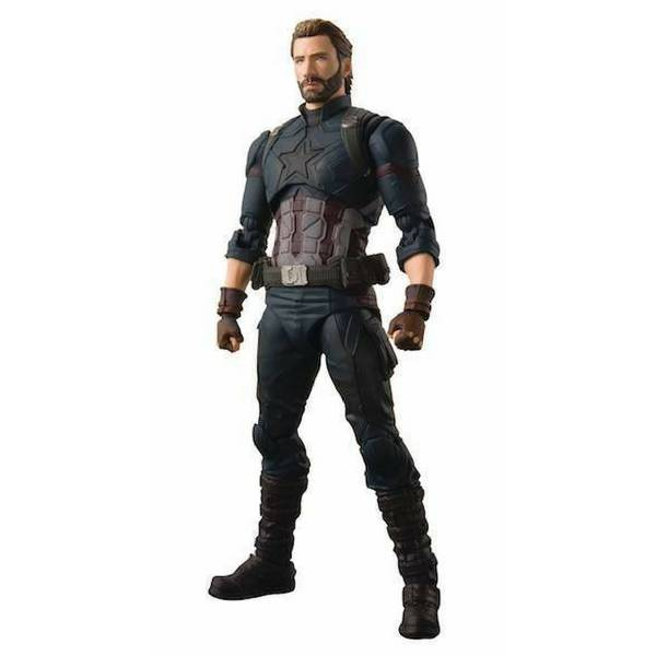 Avengers Infinity War: S.H. Figuarts Captain America Figure By Bandai
