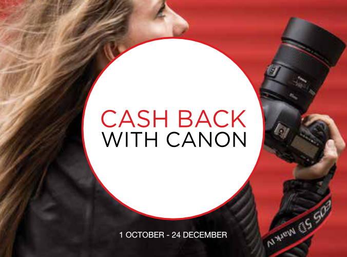 Canon Cash Back Promo