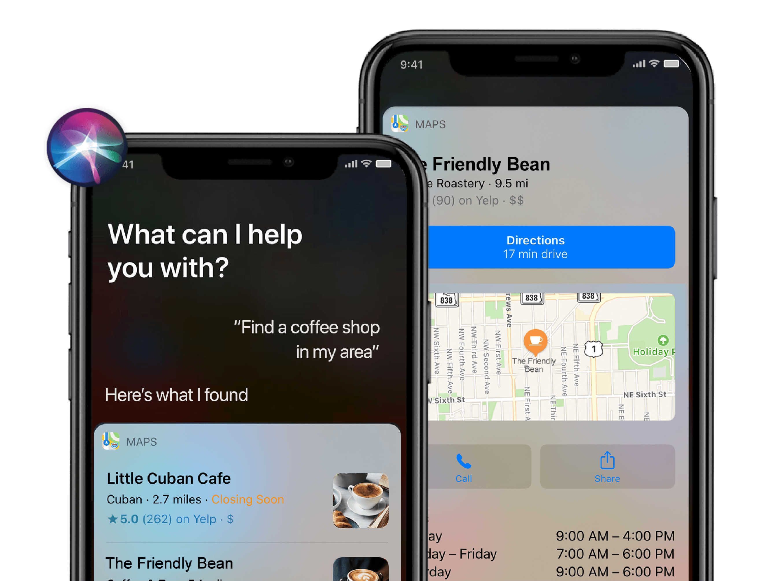 how to get my business on siri