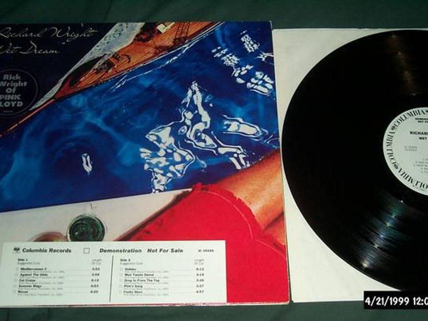 Richard Wright - Wet dream white label promo lp nm