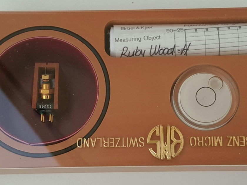 Benz Micro Ruby H, 0.7mV 100 hrs - perfect for Tube phono stage