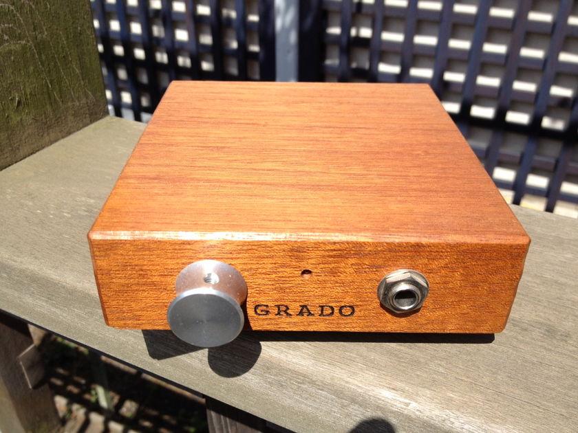 Grado RA1  Mahagony Headphone Amplifier RA-1 Battery powered Headphone amp