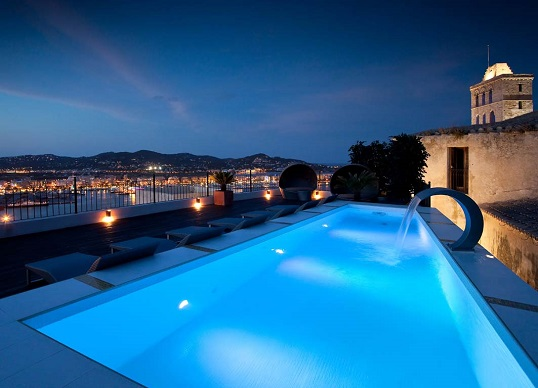 Ibiza - First class property with breathtaking views of Ibiza Town