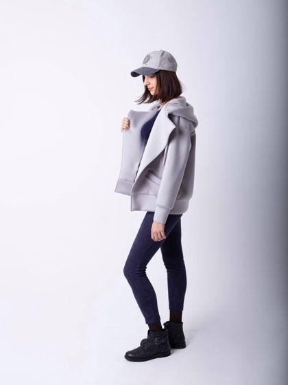 Куртка (бомбер) универсальный «Серебристый»