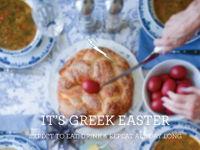 IT'S GREEK EASTER image