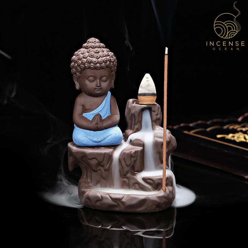 incense burner little monk