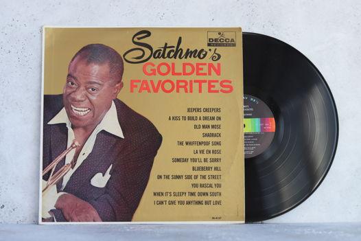 Виниловая пластинка Louis Armstrong – Satchmo's Golden Favorite