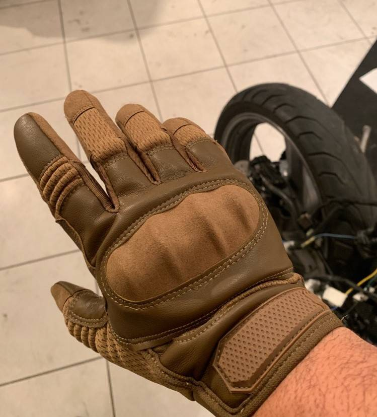 gants trottinette vitesse protection