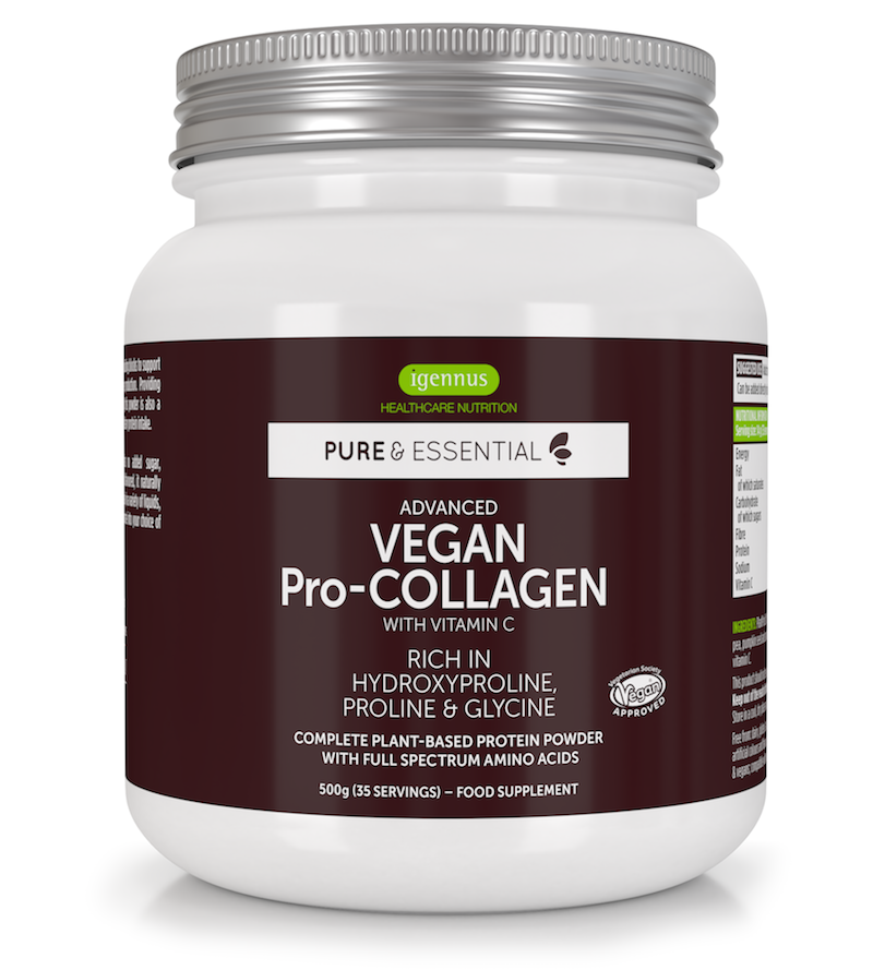 what is collagen - in vegan plant based foods