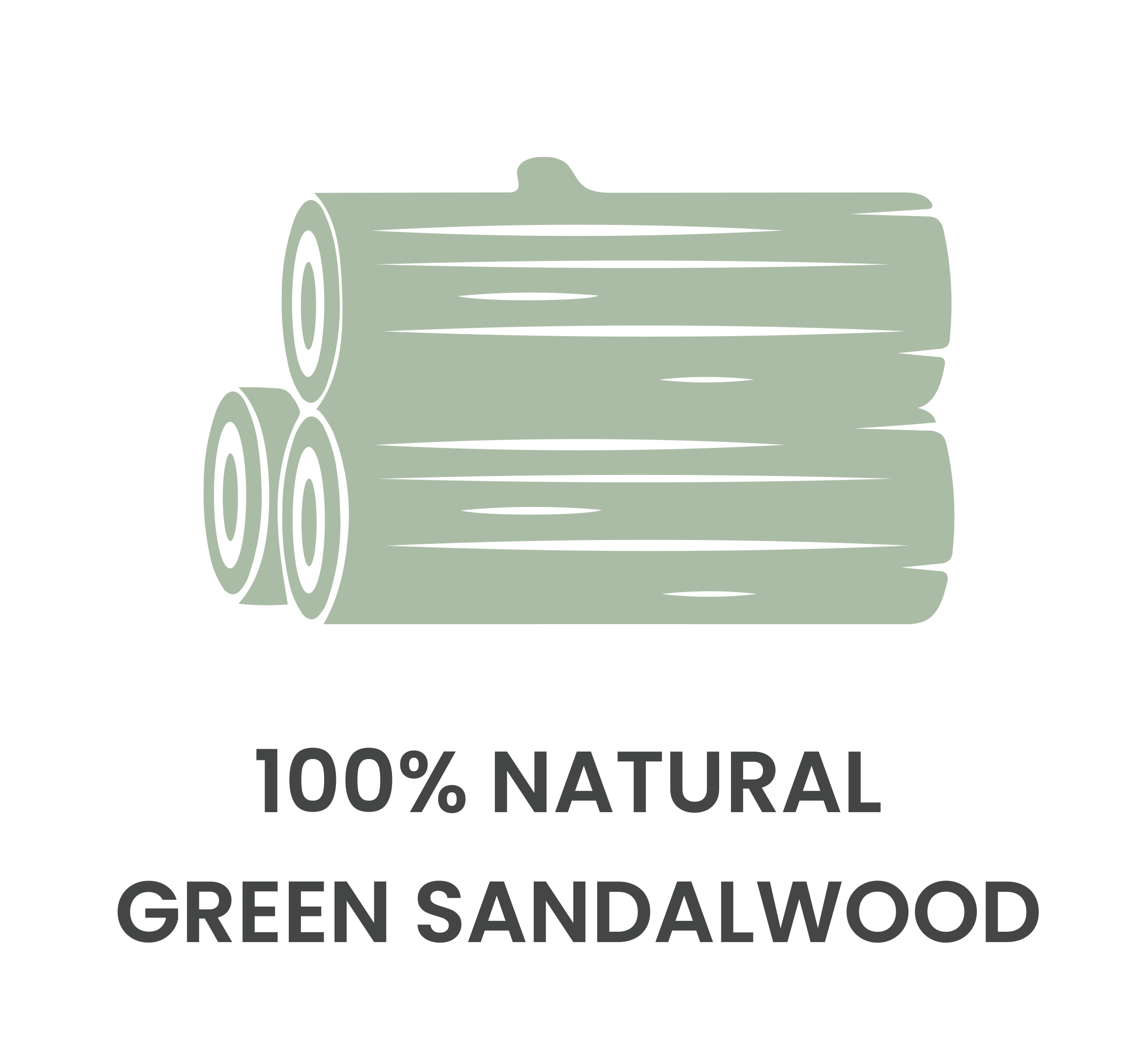 Natural Green Sandalwood