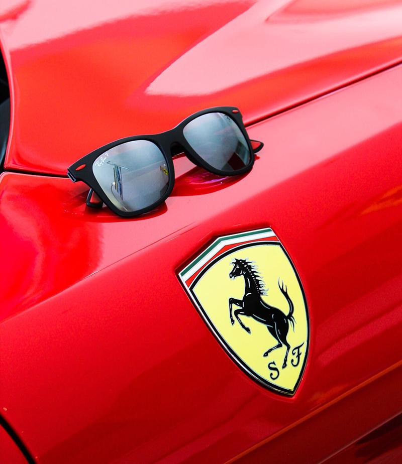 a2423ff4e91dd Ray-Ban Ferrari Collection– Designer Eyes