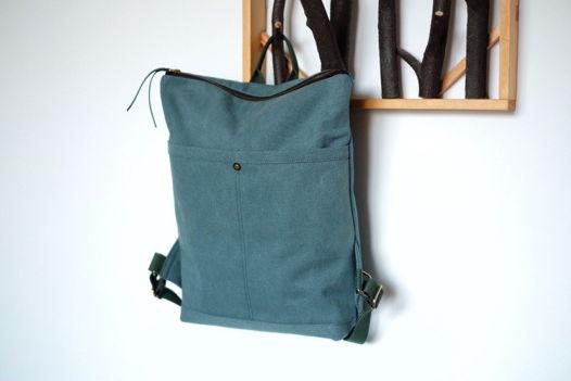 Городской рюкзак из канваса 0717