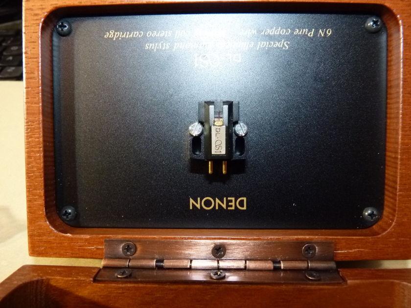 Denon DL QS1  phono cartridge Top MC line LOMC