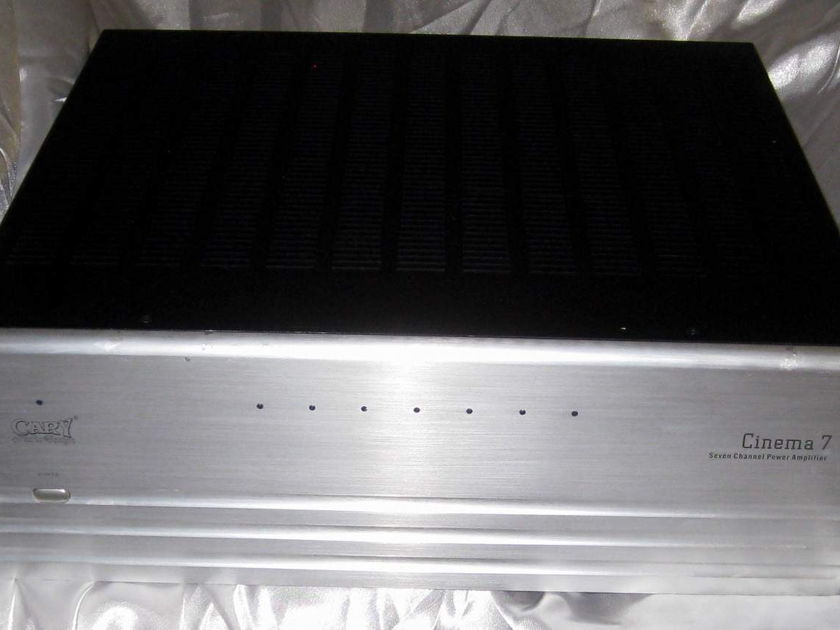 Cary Audio Design Cinema 7 theater power amplifier