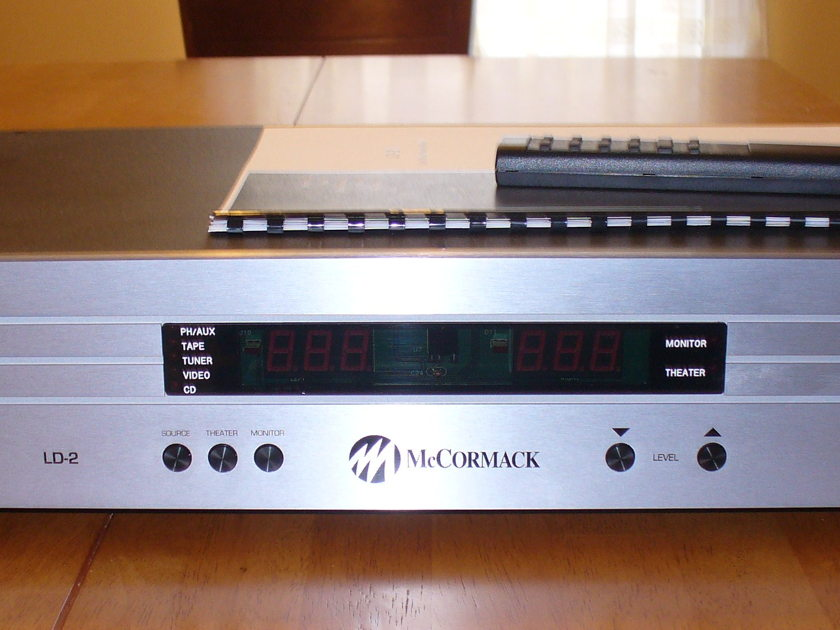 McCormack LD-2 High End Preamp (Near New)
