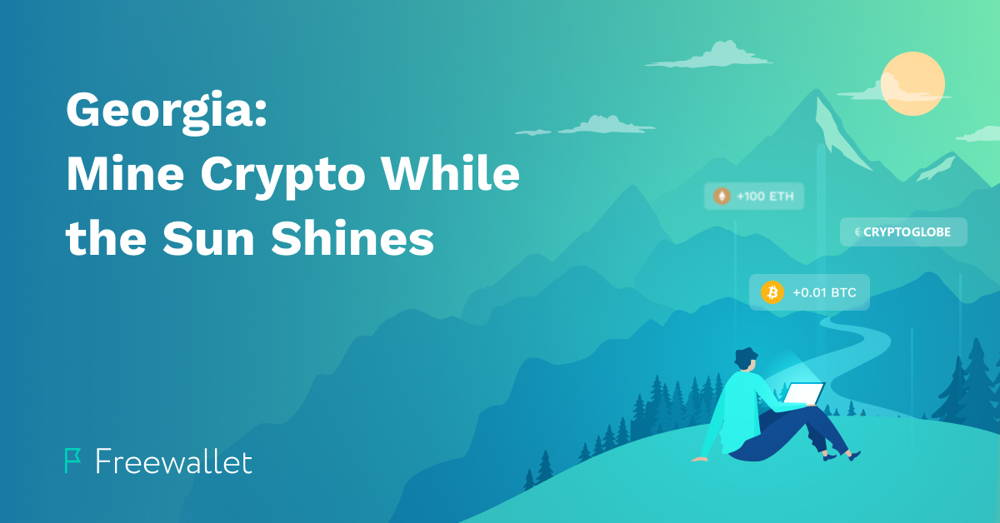 Georgia Crypto Geography – Mine Crypto While the Sun Shines