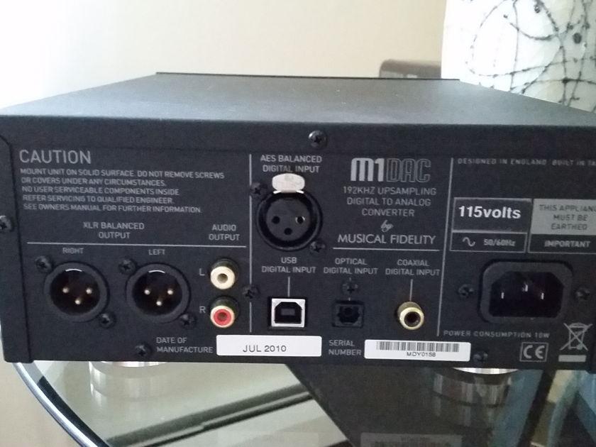 Musical Fidelity M1DAC D/A Convertor
