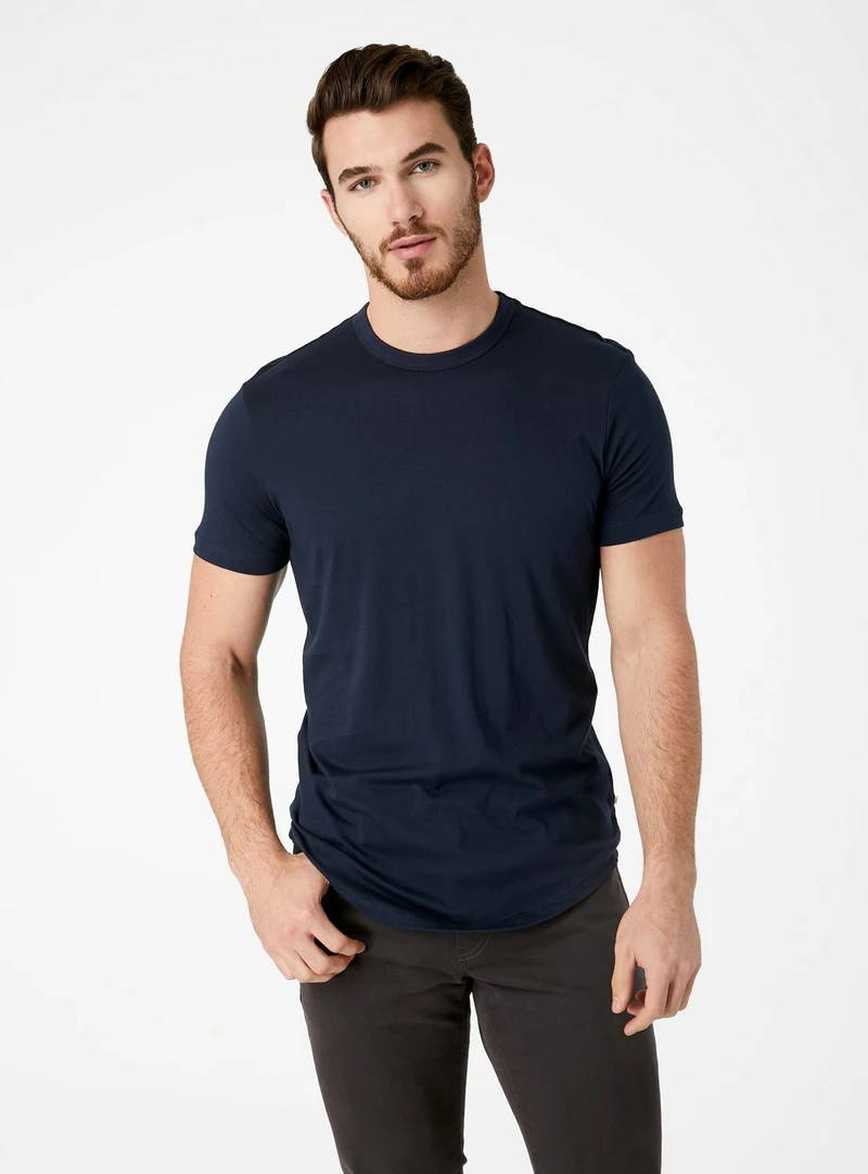 Momento Curved Supima T-Shirt