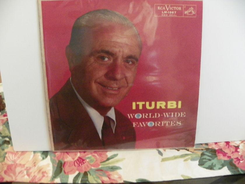 ITURBI - WORLD-WIDE FAVORITES NM Pressing