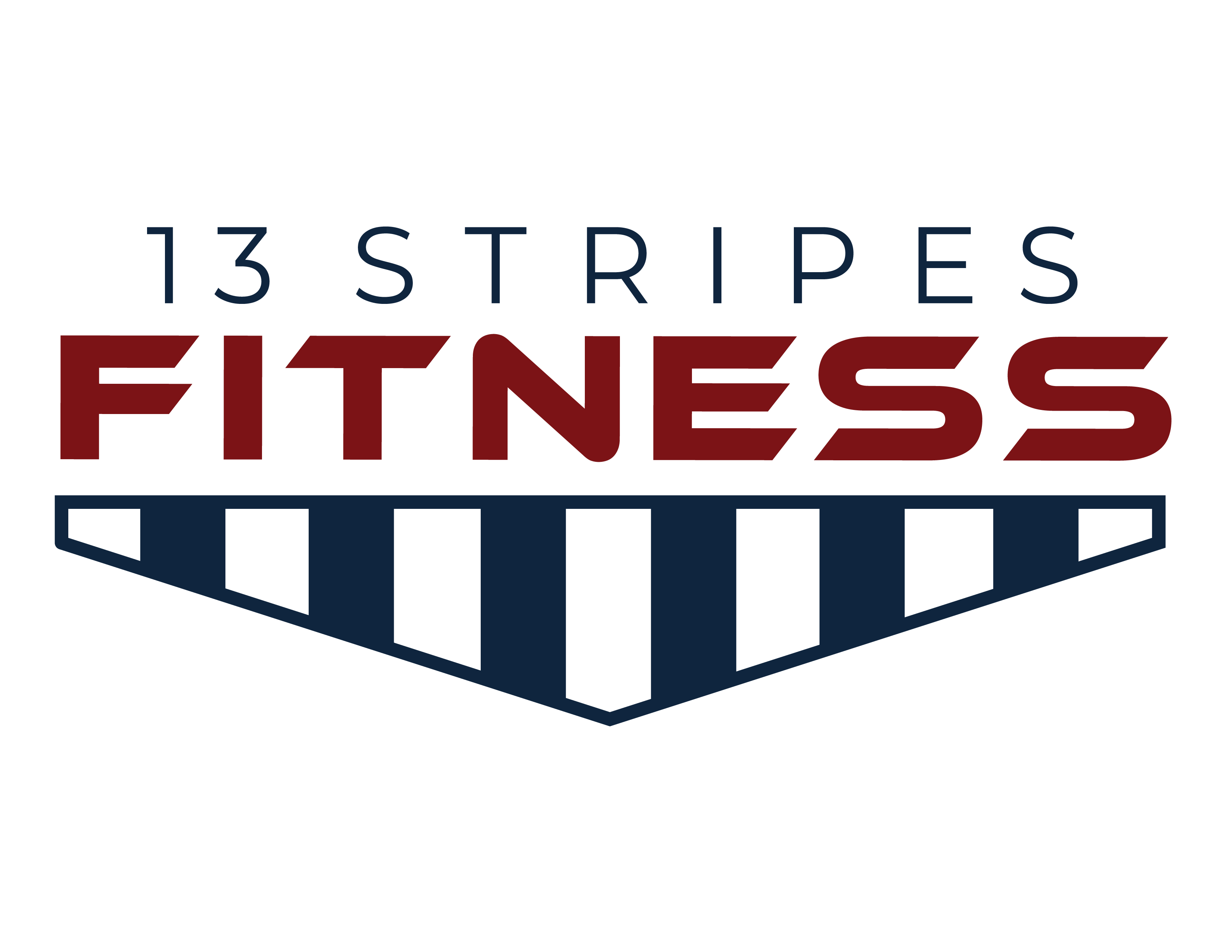 13 Stripes Fitness logo