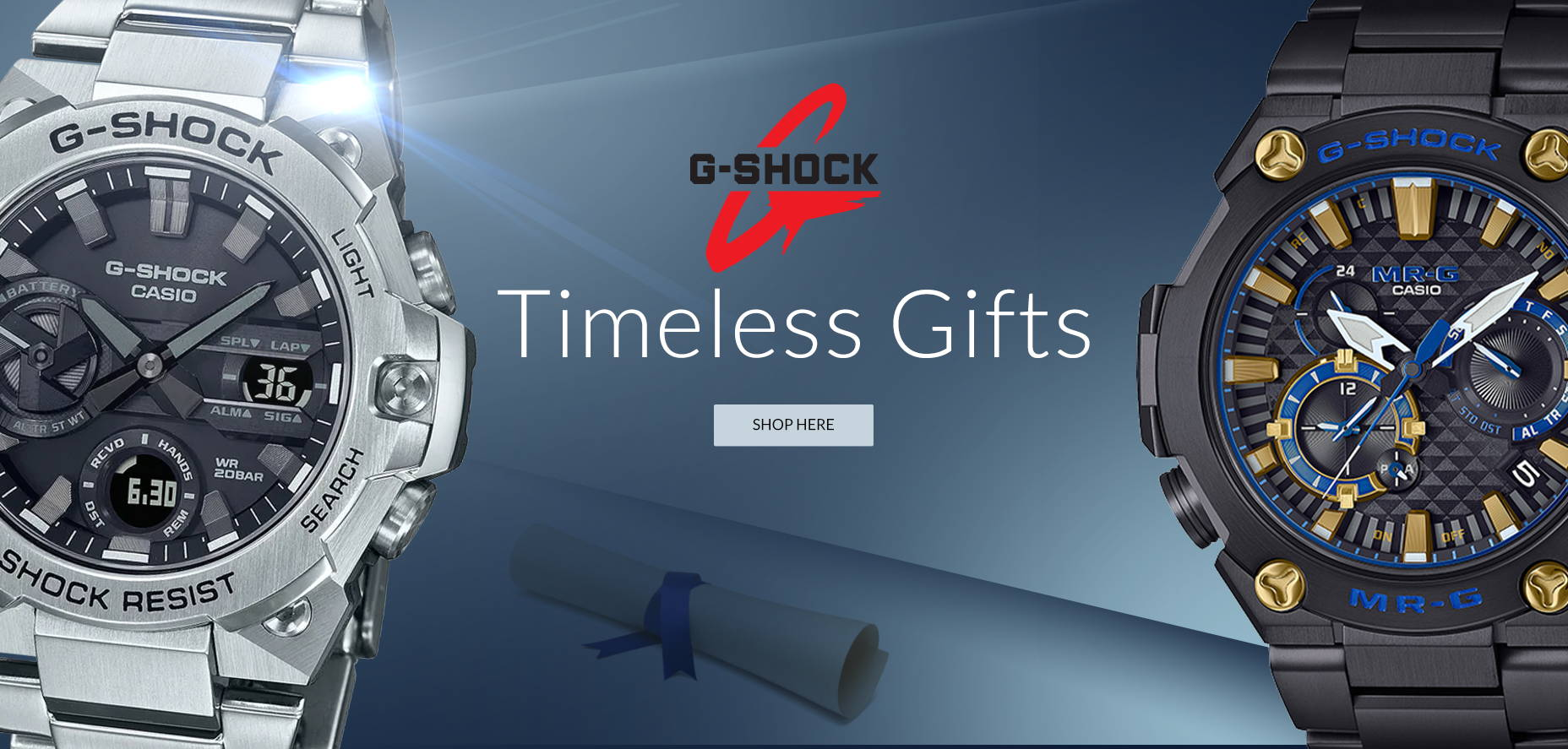 G-Shock Watches Banner