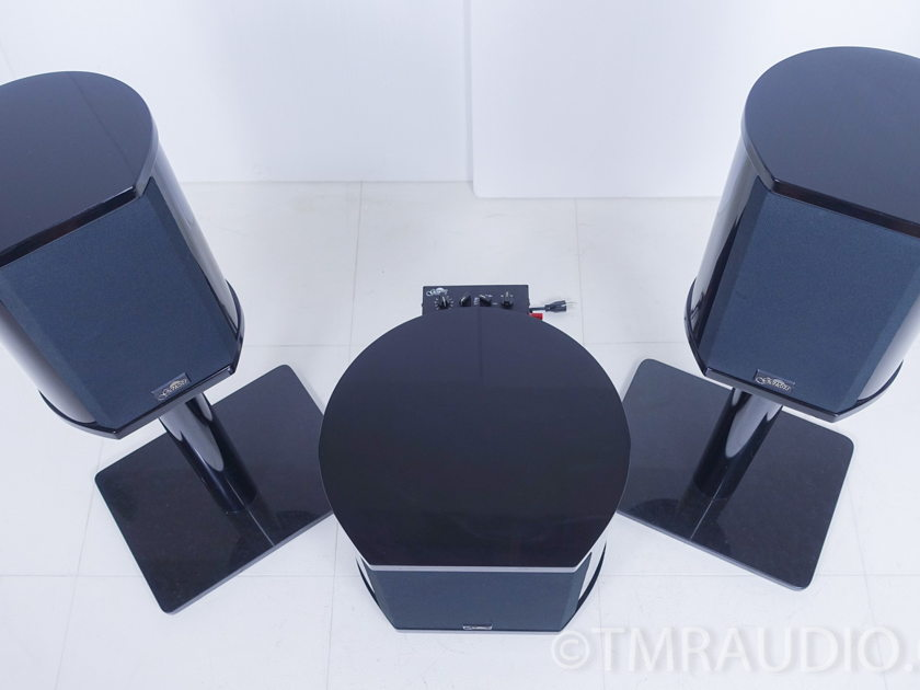 Genesis IM5200 Speakers w/ Stands & Servo 10 Subwoofer (5427)