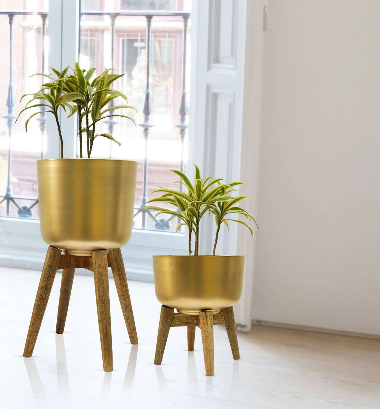 indoor planter set