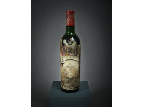 One Bottle of 1970 Mouton Rothschild, Pauillac