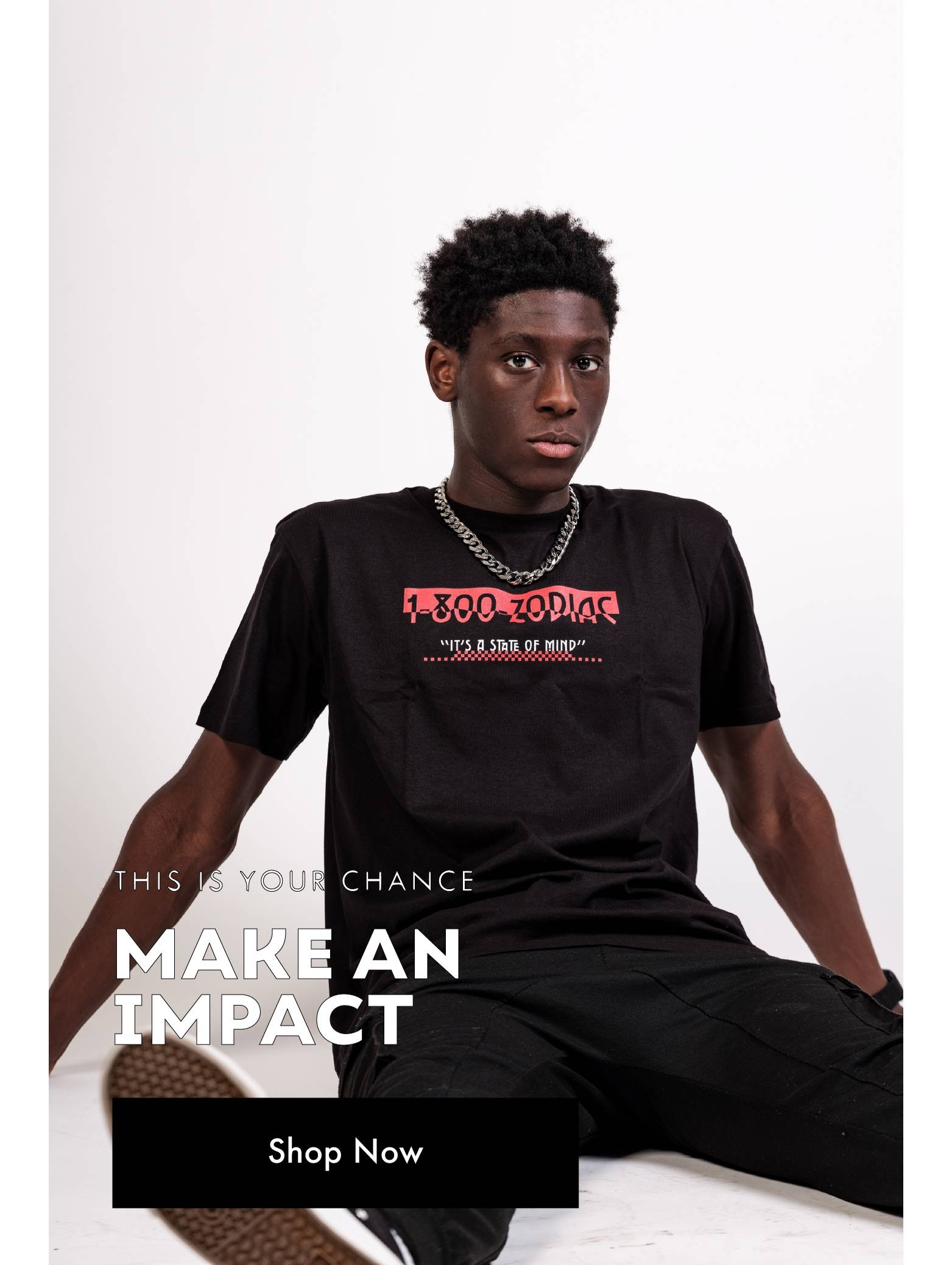 This Is Your Chance Make An Impact - Pre-Order Now
