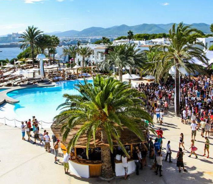 Calendar day parties at Ibiza, destino Ibiza Terrace