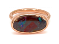 Eliza Page Australian Boulder Opal ring