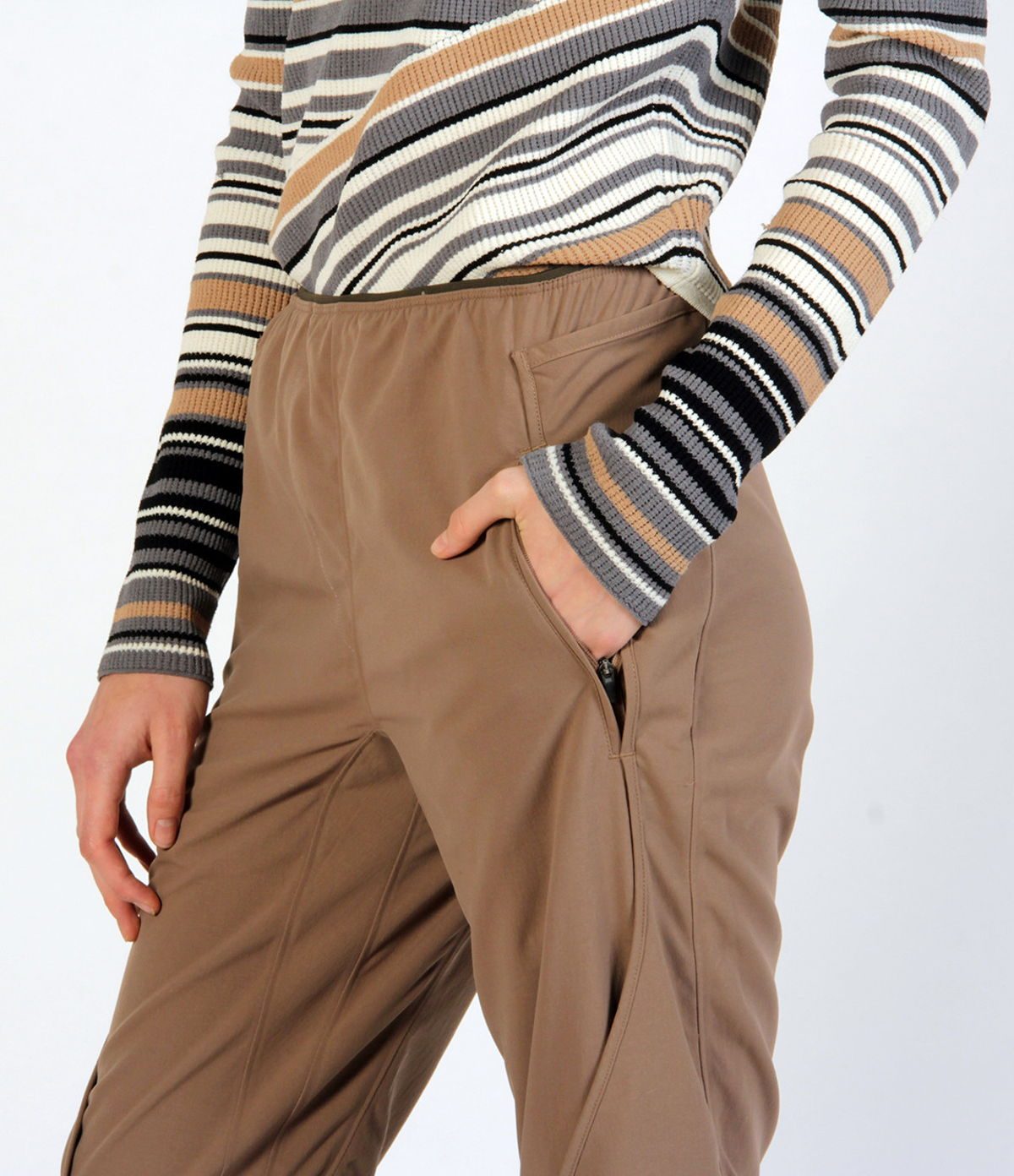 PURITY - GO ANYWHERE ELEGANT EXCEPTIONALLY COMFORTABLE PANT JAVA
