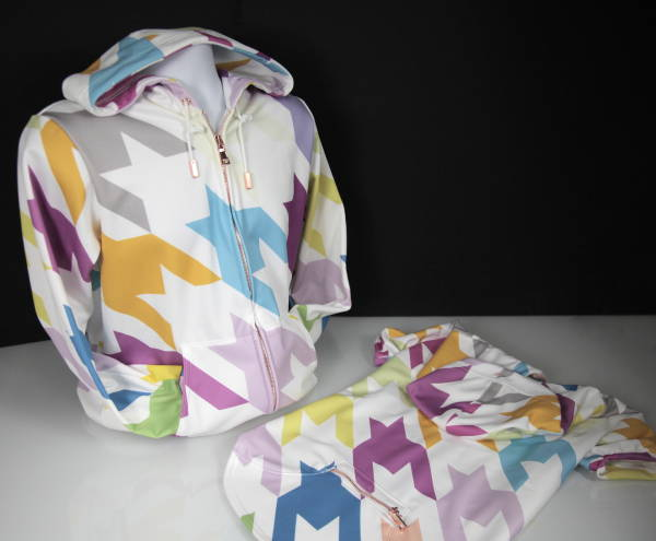 Custom Wholesale Activewear - Dye Sublimation Cut and Sew - Hoodie