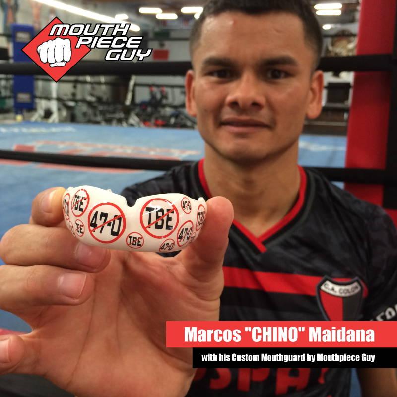 Pro Boxer Marcos