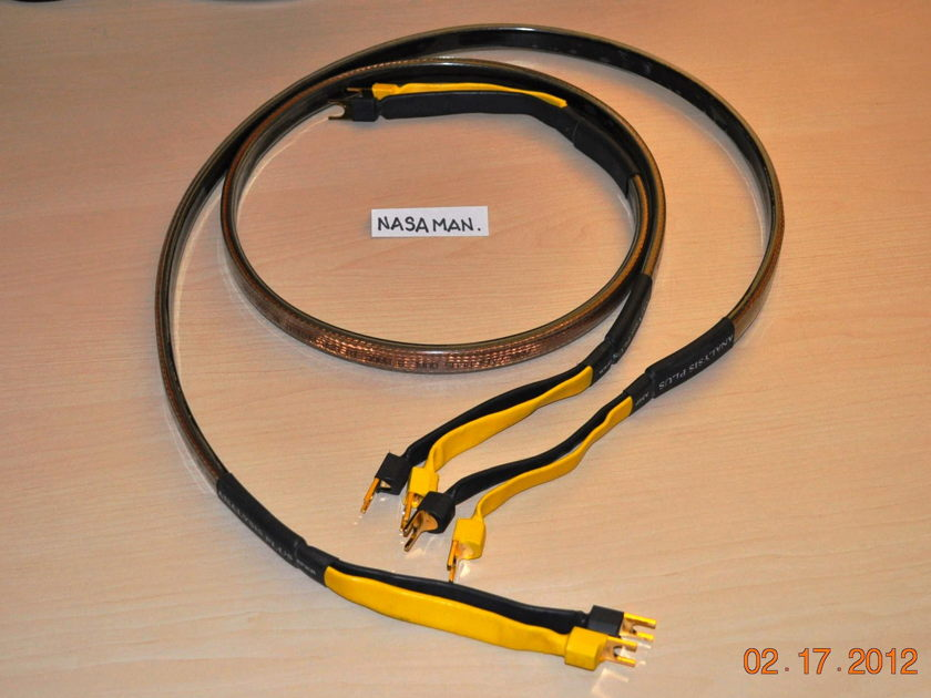 Analysis Plus Oval 9 Speaker Cables, Pair Current Model, 4-ft long