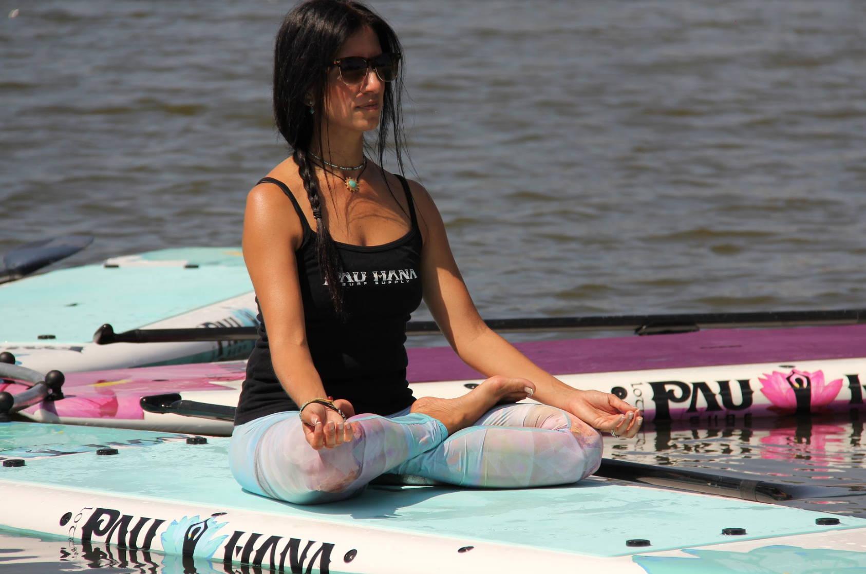 Pau Hana Lotus SUP Boards in Marina del Rey