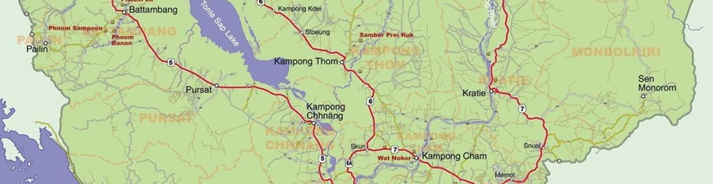Трансфер в Камбодже
