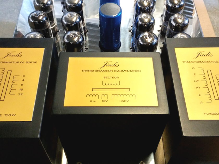 Jadis  DEFY-7 Mk 2 (100 Wpc) Stereo Vacuum Tube Amplifier USED (Finish: S.S./ Gold)