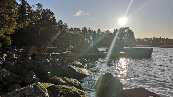 Koneurakointi Tomas Holmström, Loviisa