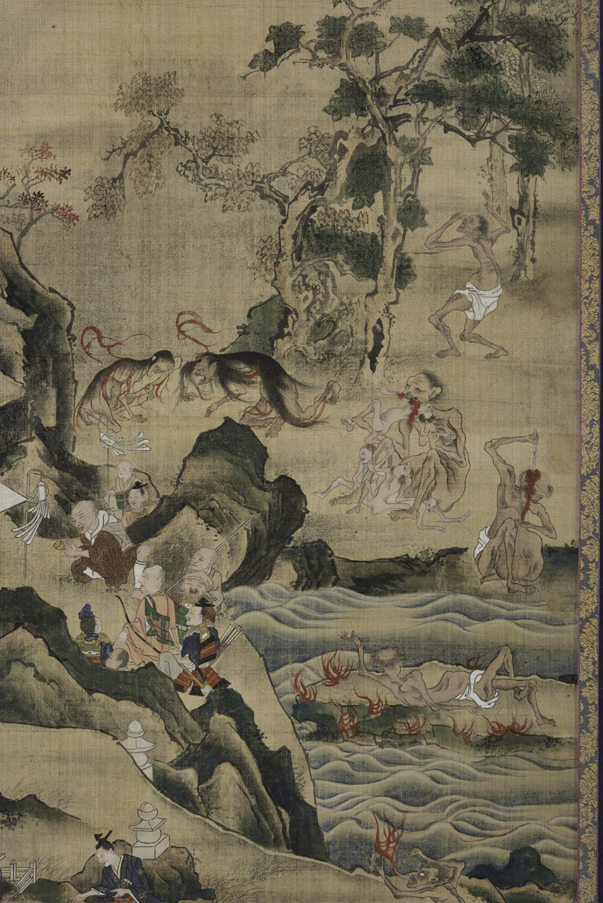 Hungry Ghosts, detail