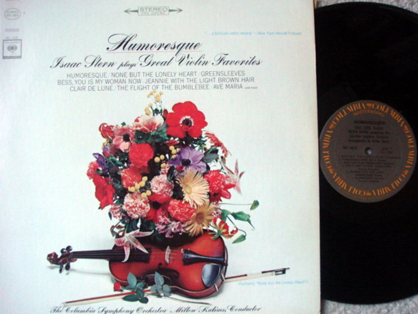 Columbia / ISAAC STERN, - Humoresque and Great Violin Favorites, NM!