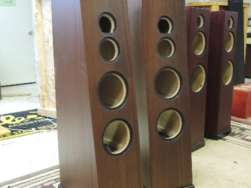 Madisound B741 speaker kit Cabinets included trades considered